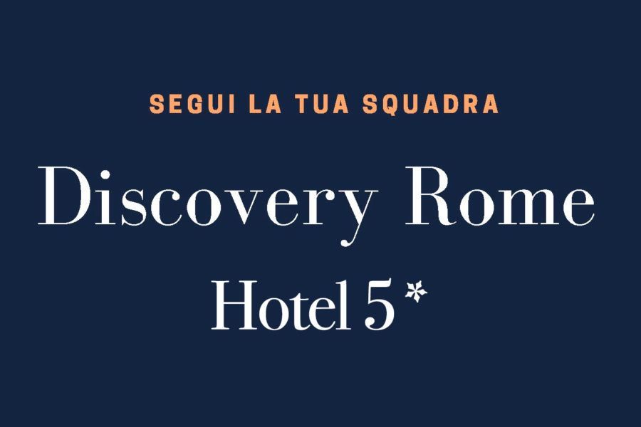 Discovery Rome in Hotel 5*